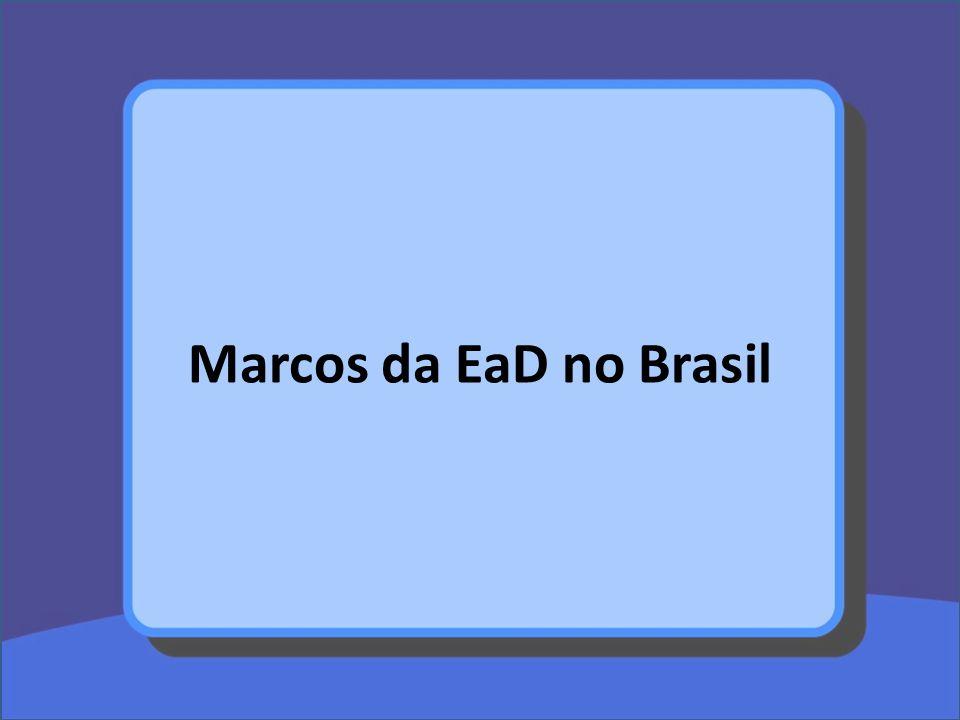 Marcos da EaD no Brasil
