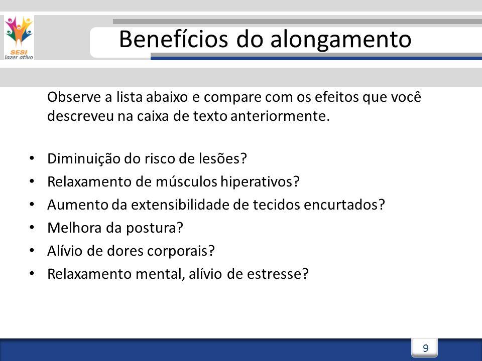3/3/201420 Flexibilidade Ativa Flexibilidade Passiva Maior amplitude de movimento que pode ser atingida com contração muscular do próprio indivíduo CLASSIFICAÇÕES