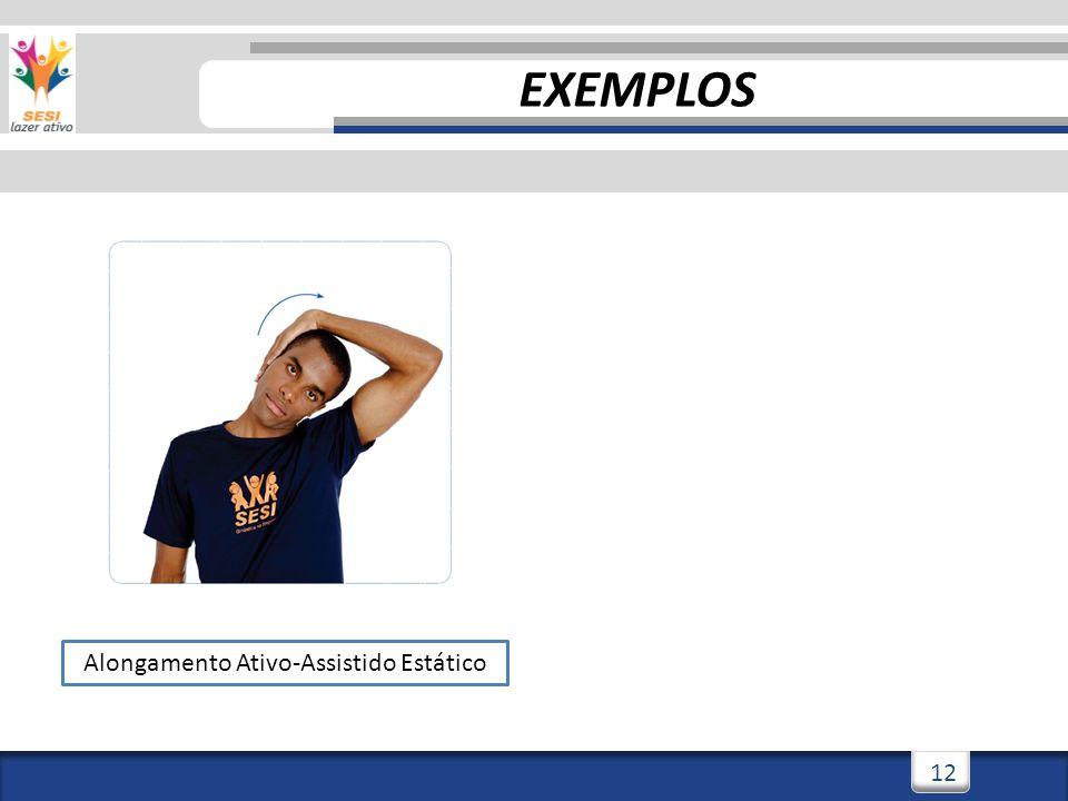 3/3/201412 Alongamento Ativo-Assistido Estático EXEMPLOS