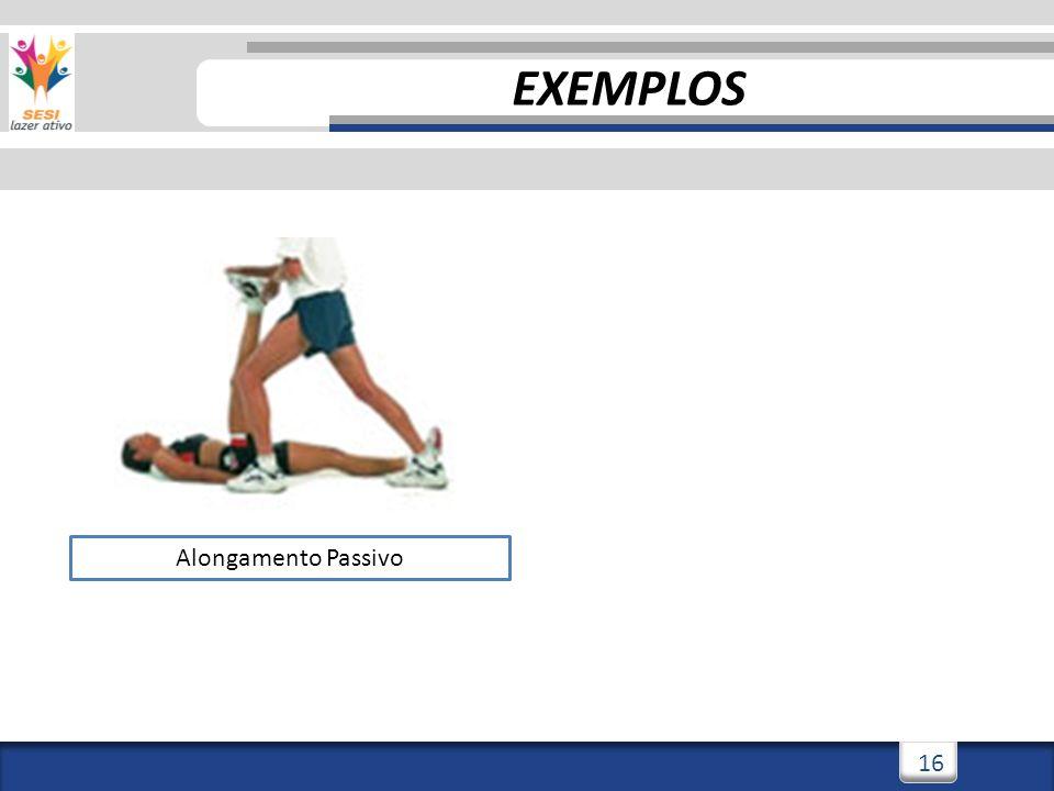 3/3/201416 Alongamento Passivo EXEMPLOS