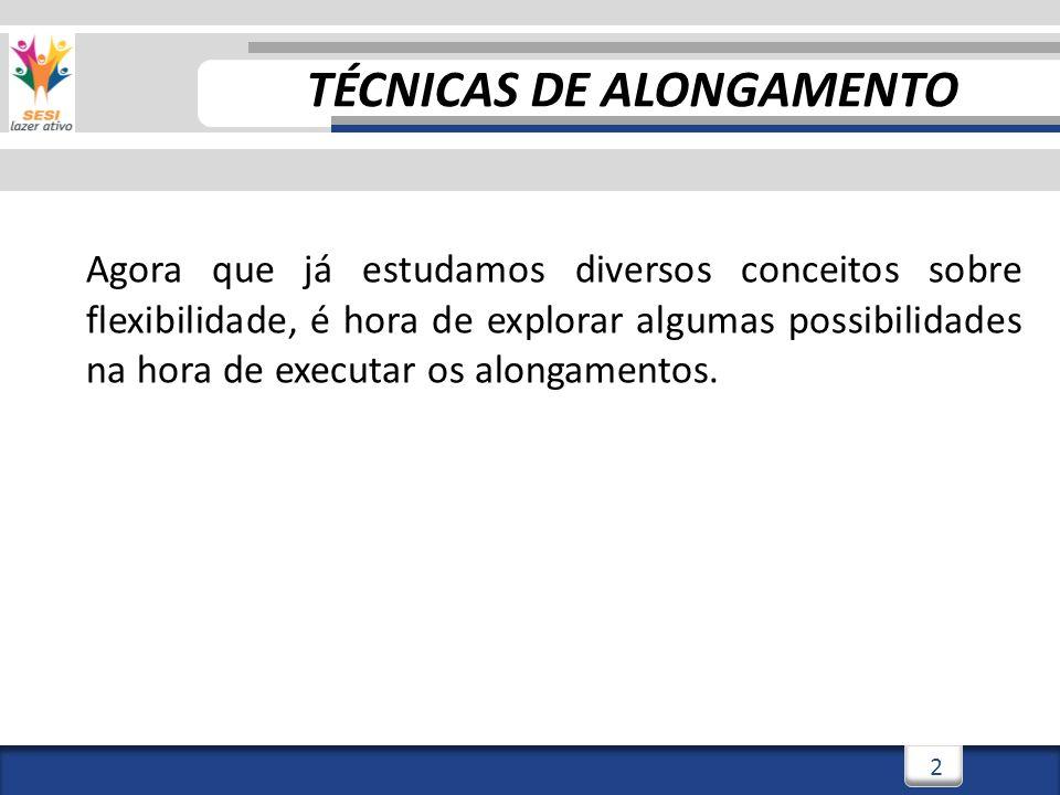 3/3/201413 Alongamento Ativo-Assistido Estático EXEMPLOS