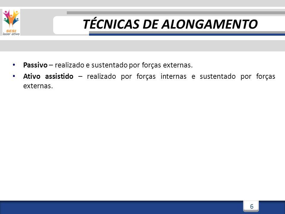 3/3/201417 Alongamento Passivo EXEMPLOS