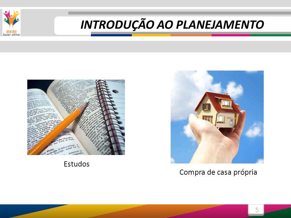 5 Compra de casa própria Estudos INTRODUÇÃO AO PLANEJAMENTO