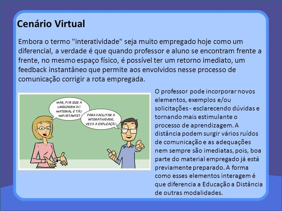 Cenário Virtual Embora o termo
