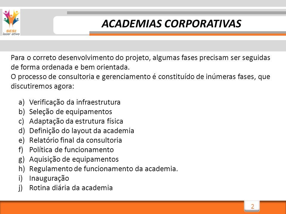 13 I)INAUGURAÇÃO Este é o grande momento, em que espera-se atingir o trabalhador, conquistando sua adesão, o que pode definir o sucesso da Academia Corporativa.