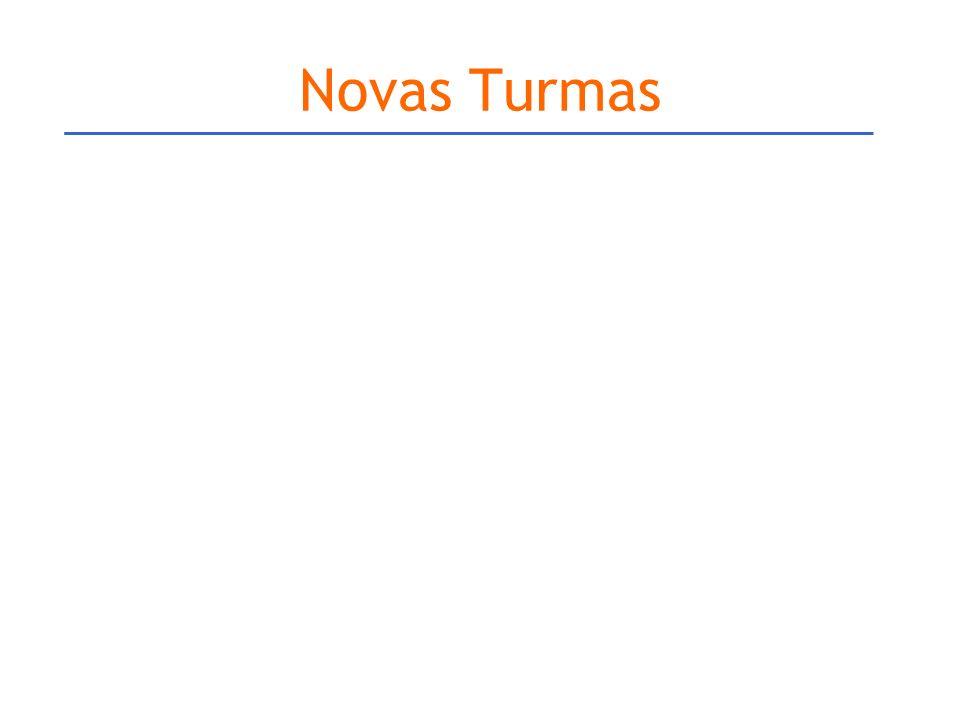 Novas Turmas