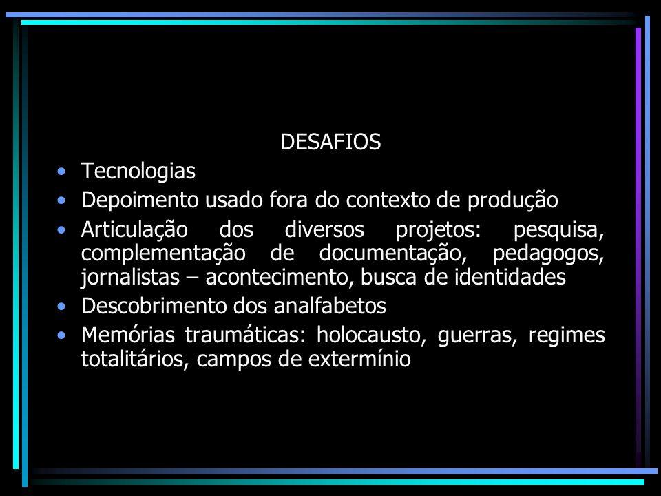 Memória Fixação do acontecimento ( Platão) Evocação do passado – memória – sonho ( Bergson) Memória reconstrução: dialética do passado e do presente / dupla seletividade Memória – coletiva/ linguagem expressa convenções sociais do grupo (Halbwachs)