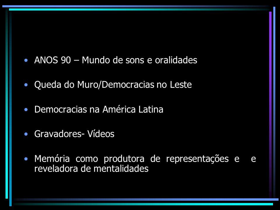 História Oral no Brasil CPDOC/FGV UEL UFSC -Atualmente amplamente reconhecida -Associação Brasileira de História Oral - ABHO -Revista História Oral da ABHO -NEHO – Núcleo de Estudos em História Oral