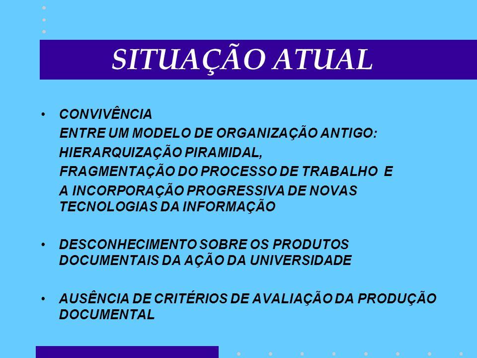 CONVIVÊNCIA ENTRE UM MODELO DE ORGANIZAÇÃO ANTIGO: HIERARQUIZAÇÃO PIRAMIDAL, FRAGMENTAÇÃO DO PROCESSO DE TRABALHO E A INCORPORAÇÃO PROGRESSIVA DE NOVA