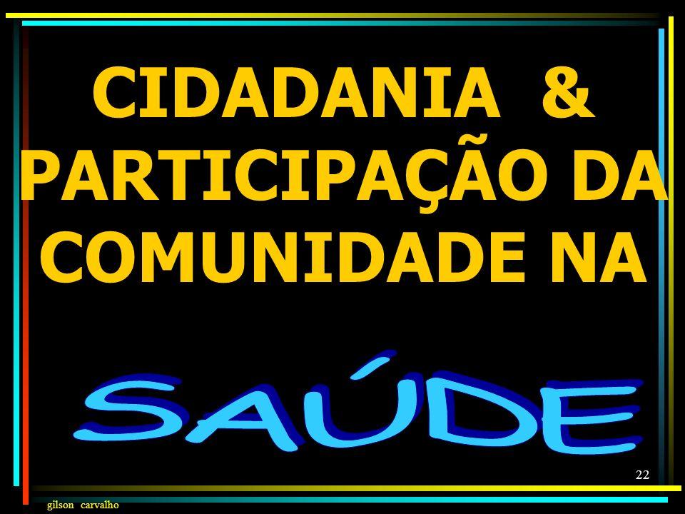 gilson carvalho 21 ÍNDICE EJ & RG GASTO PÚBLICO COM SAÚDE POR HABITANTE 2007 R$1,41