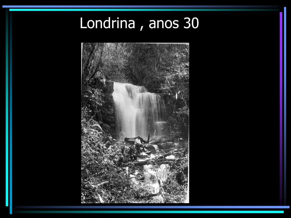Londrina, anos 30