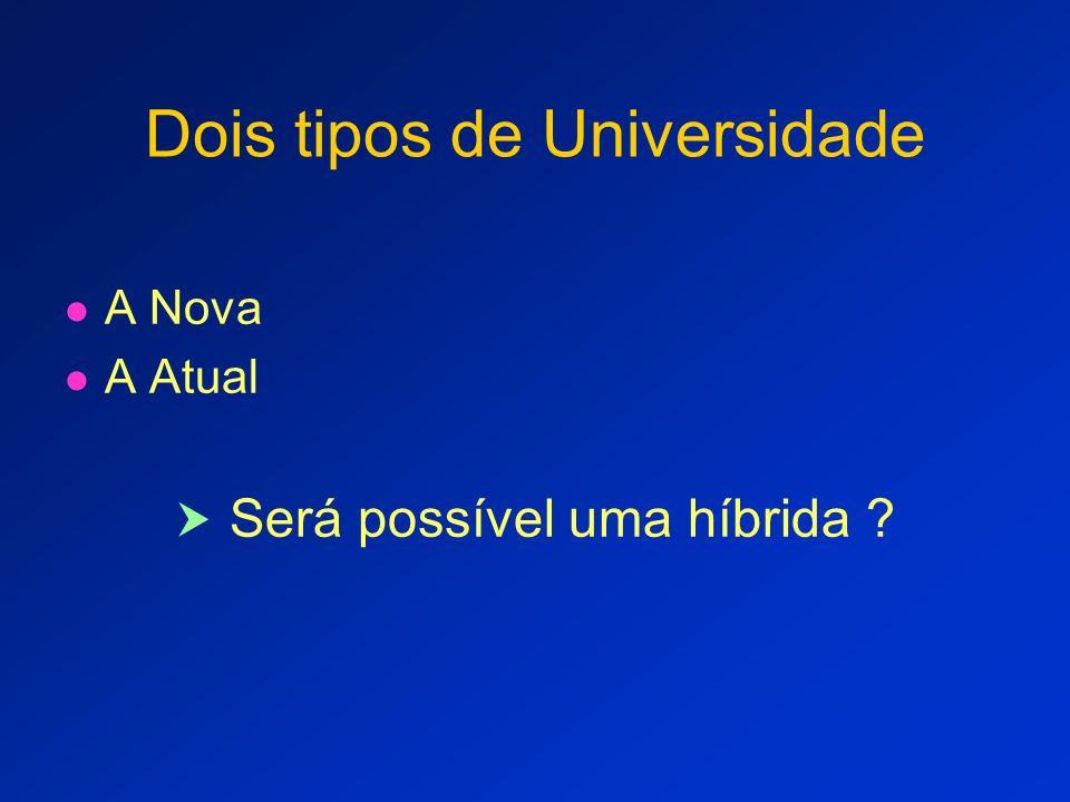 UniNova, modelo para Novas Instituições Novos Campus de IES em expansão Novos grupos de Cursos OU para re-estruturar todas as IFES ?