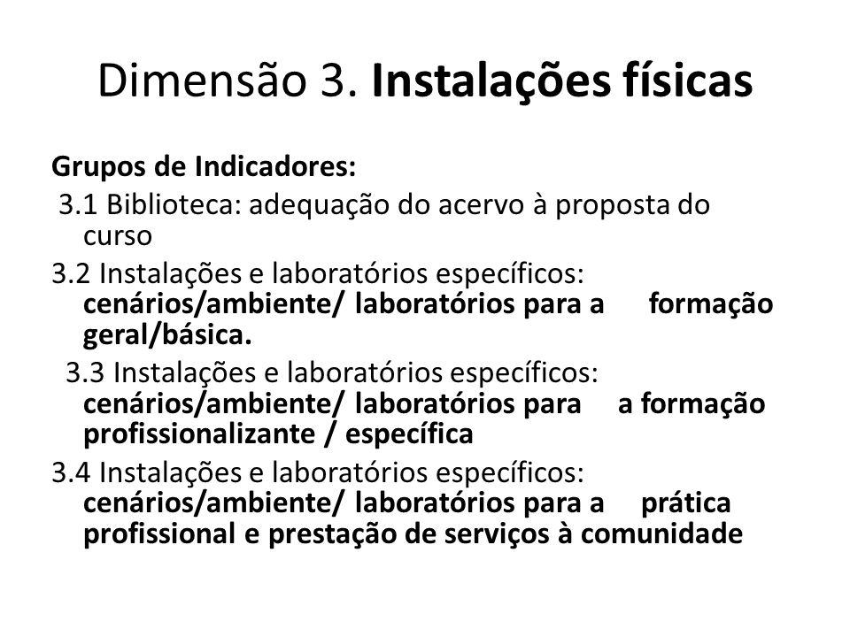 Novo Instrumento (2010) 1.Organização didática pedagógica 1.1.