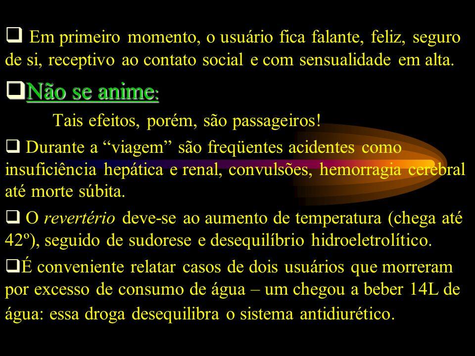 O abuso de anticolinérgicos é relativamente comum no Brasil e tem sido responsável por internações de emergência.