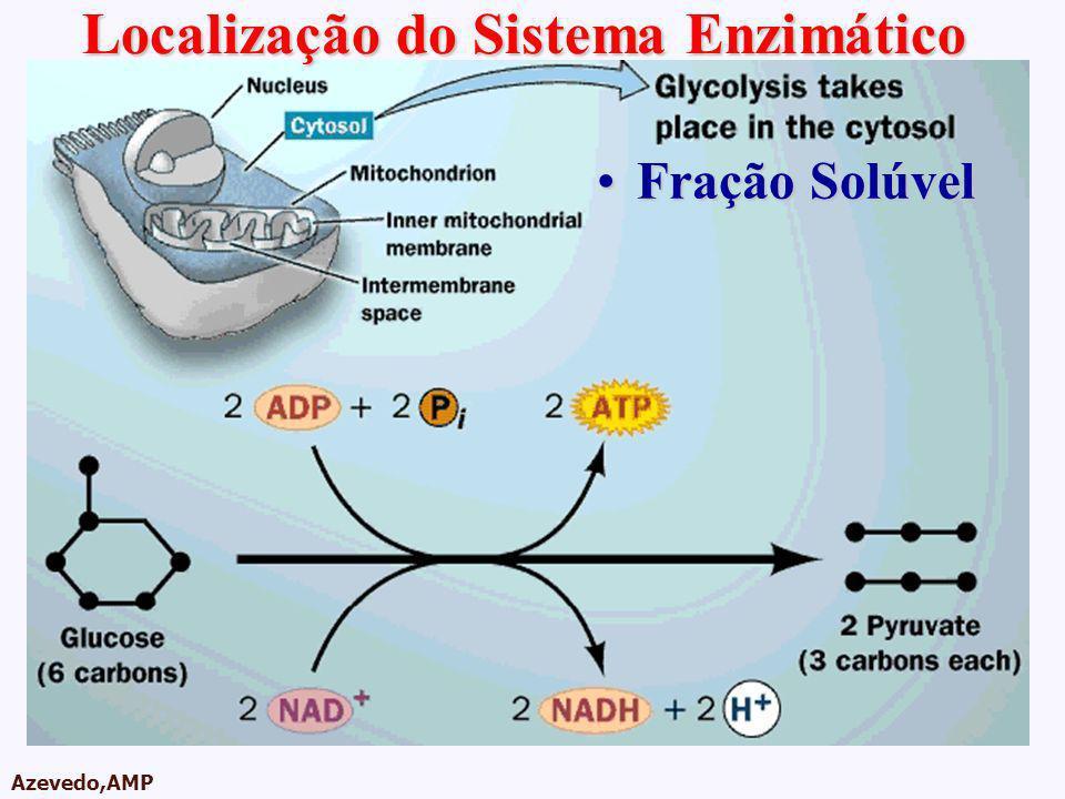 AMPA 2003 Azevedo,AMP Fração SolúvelFração Solúvel Localização do Sistema Enzimático
