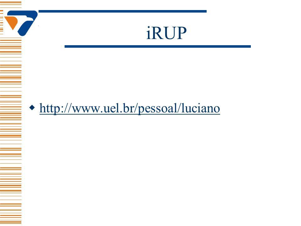 iRUP http://www.uel.br/pessoal/luciano