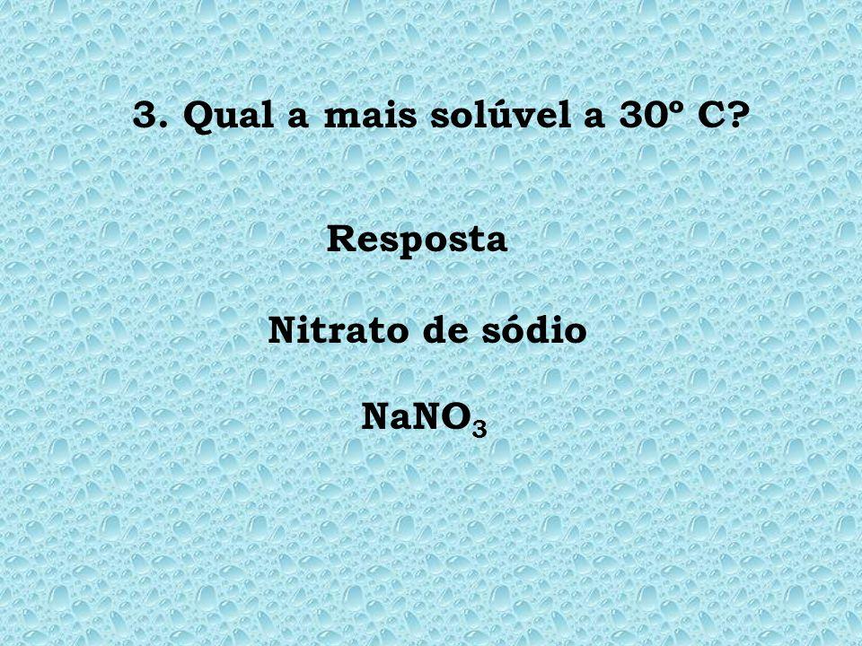 Resposta Nitrato de potássio ( KNO 3 )