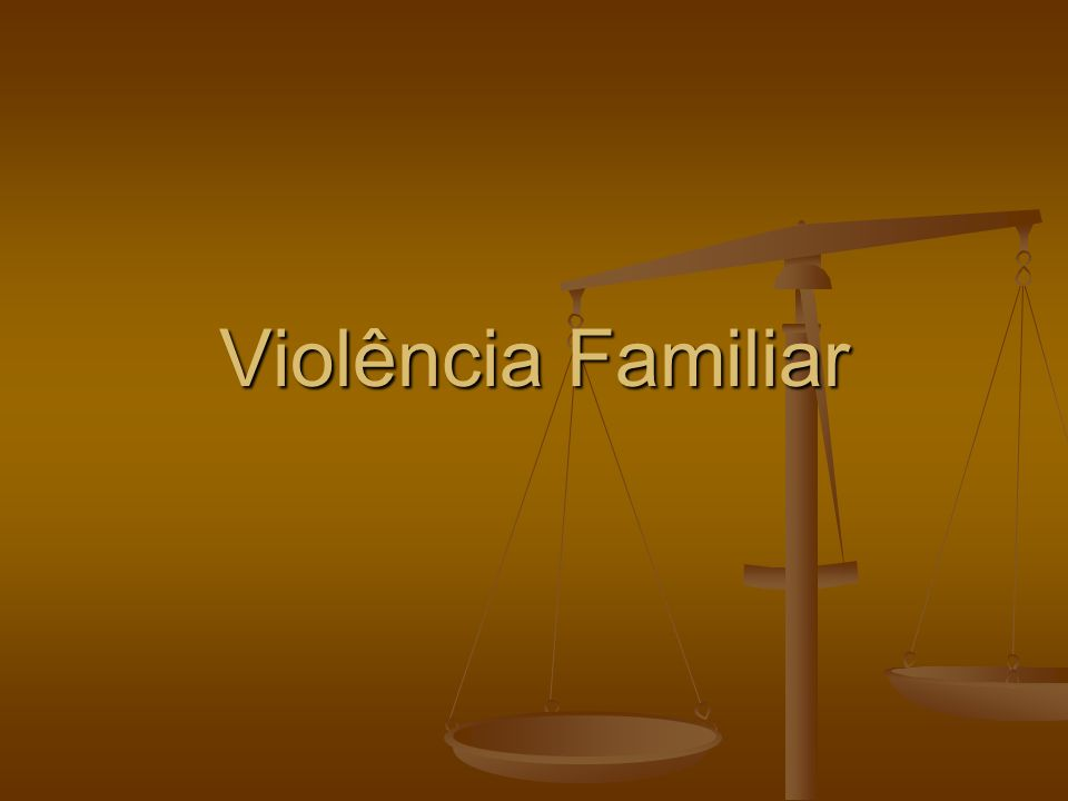 Violência Familiar