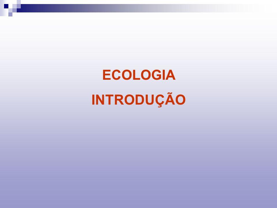 ECOSSISTEMA : UNIDADE DE ESTUDO DA ECOLOGIA SISTEMA DE RELAÇÕES ENTRE SERES VIVOS E FATORES FÍSICOS E QUÍMICOS DO MEIO Os ecossistemas são formados pela união de dois fatores: Fatores abióticos - o conjunto de todos os fatores físicos que podem incidir sobre as comunidades de uma certa região.