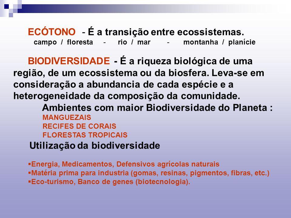 CONTROLE BIOLÓGICO - As medidas naturais utilizadas para o controle de pragas e restabelecimento para de ecossistemas são chamados controles biológicos.