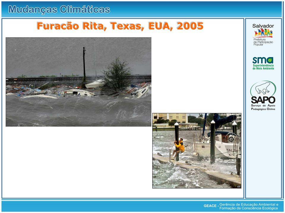 Furacão Rita, Texas, EUA, 2005 Furacão Rita