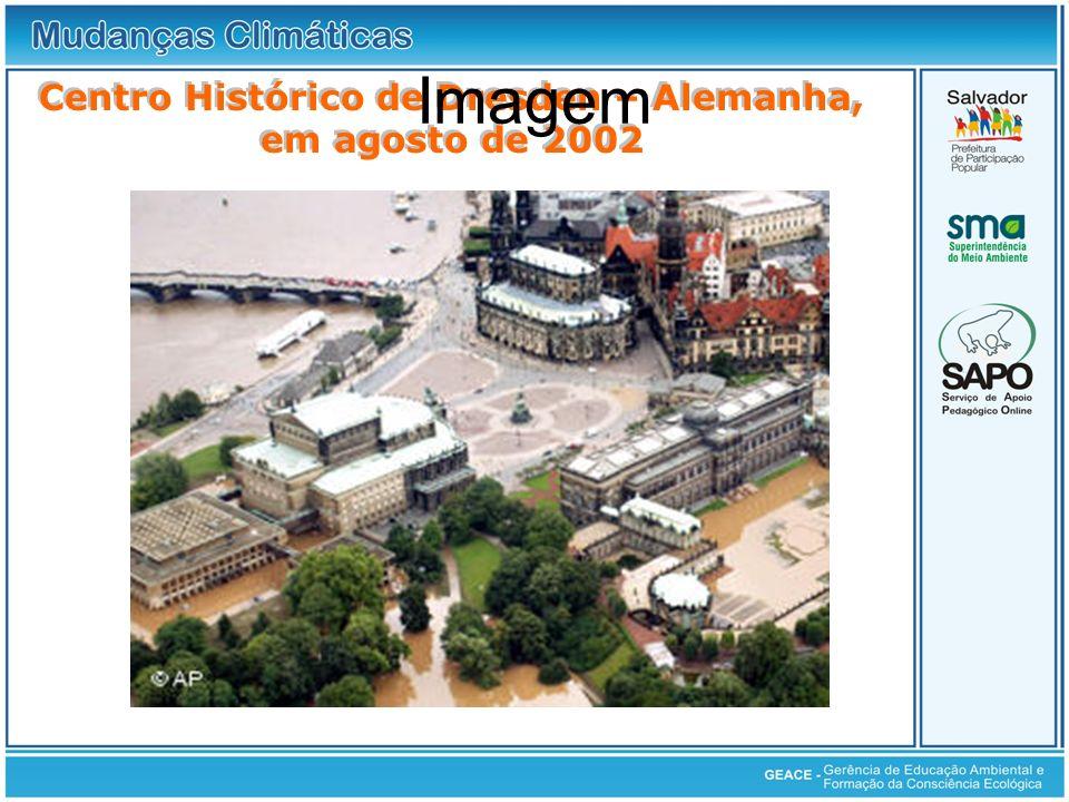 Centro Histórico de Dresden – Alemanha, em agosto de 2002 Imagem