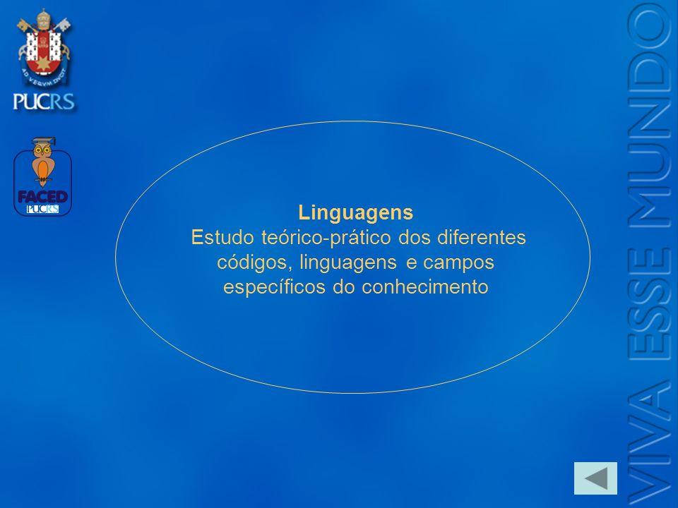 Logo do Setor Linguagens Estudo teórico-prático dos diferentes códigos, linguagens e campos específicos do conhecimento