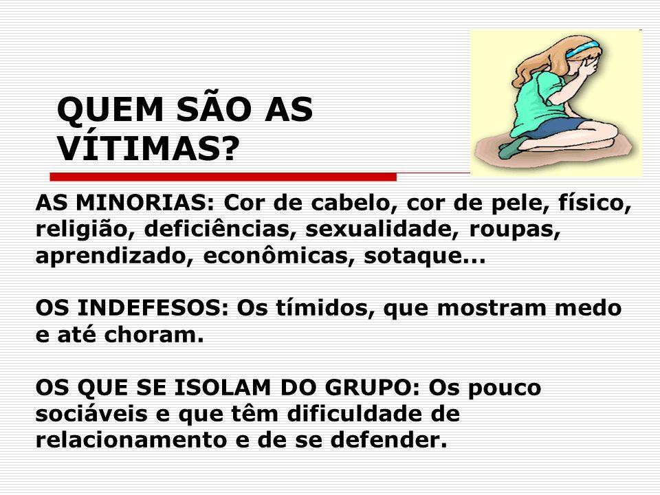 QUEM SÃO AS VÍTIMAS.