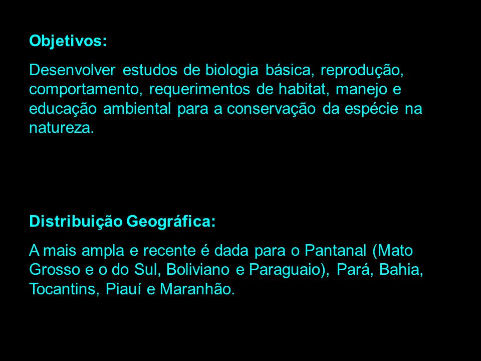 Projeto Arara Azul Pantanal-MS