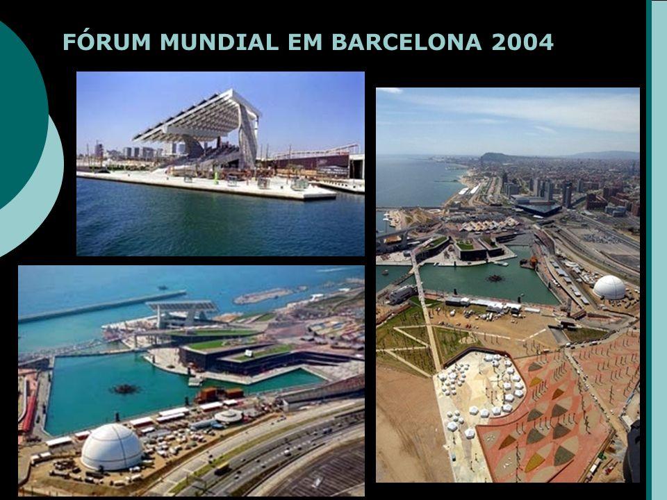 FÓRUM MUNDIAL EM BARCELONA 2004