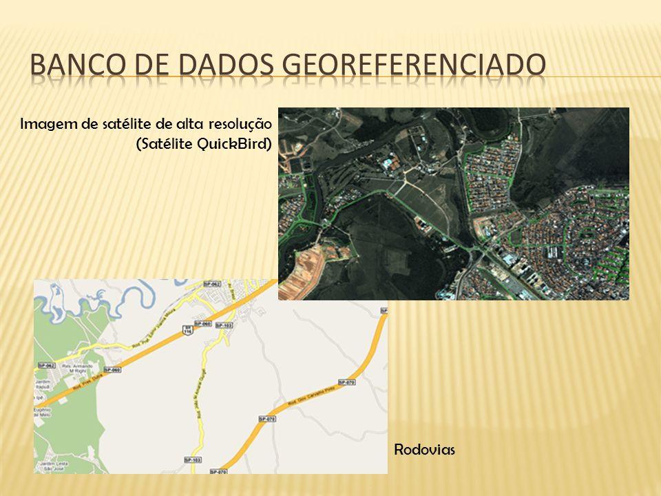 Rodovias Imagem de satélite de alta resolução (Satélite QuickBird)