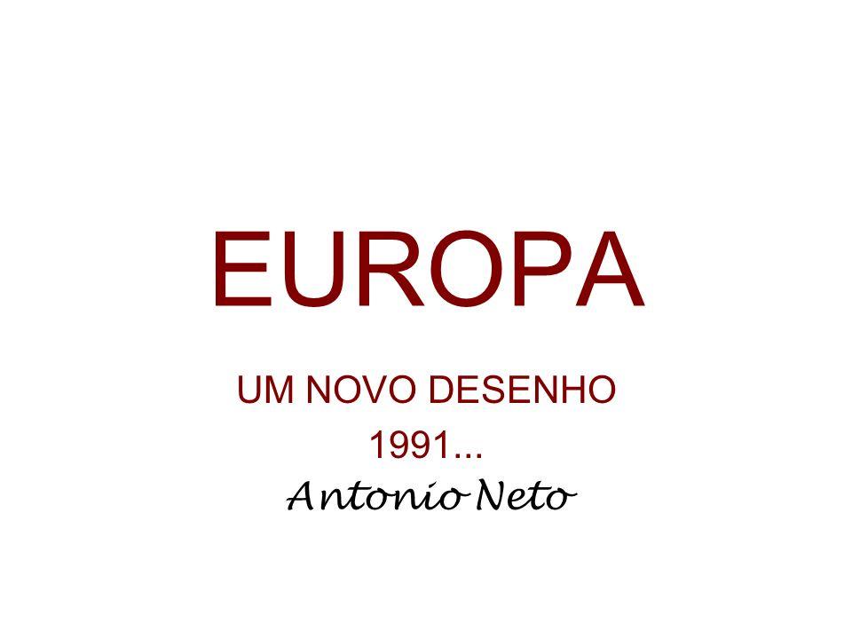 EUROPA UM NOVO DESENHO 1991... Antonio Neto
