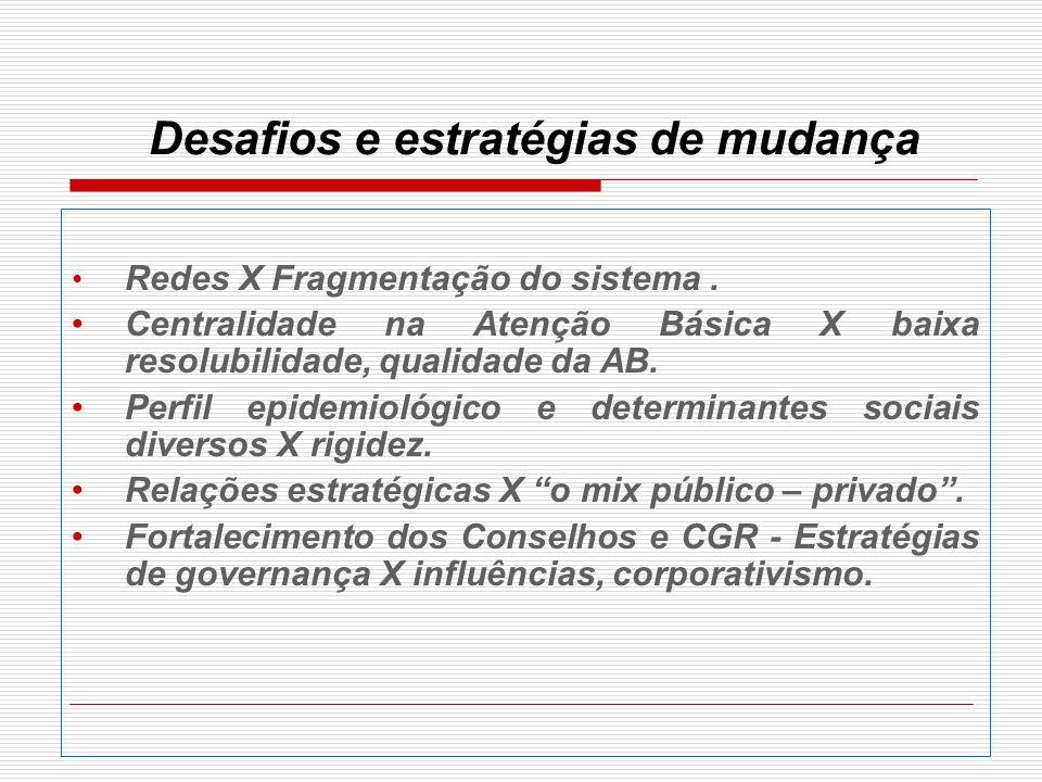 Eixos prioritários 1 Ampliação do acesso da população, com redução de desigualdades regionais e aperfeiçoamento da qualidade das ações e serviços de saúde.