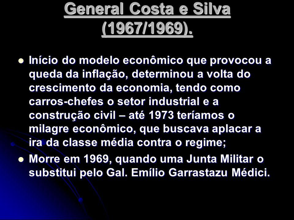 Início do modelo econômico que provocou a queda da inflação, determinou a volta do crescimento da economia, tendo como carros-chefes o setor industria