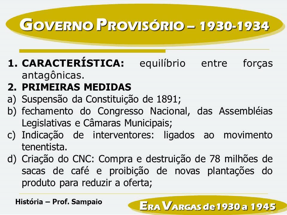 4.INTENTONA COMUNISTA: a)Vargas fecha a ANL em 1935 usando a Lei de Segurança Nacional b)Revolta militar contra o governo, que eclodiu em novembro de 1935.