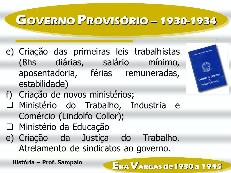 3.REVOLUÇÃO CONSTITUCIONALISTA DE SÃO PAULO EM 1932 a)Pretexto: a necessidade de imediata convocação de uma Assembléia Constituinte.