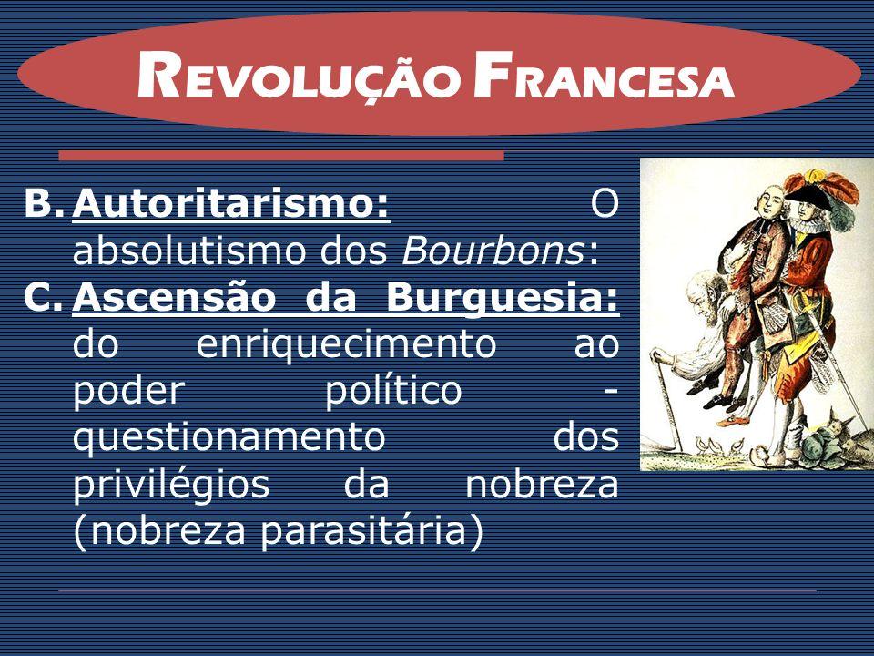 C.O novo ataque estrangeiro - (apoio inglês) D.Revolta camponesa na Vendéia, região pobre que não tinha ganho nada com a Revolução.
