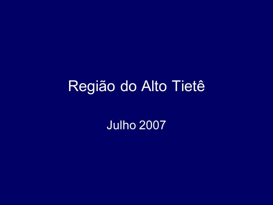 Região do Alto Tietê Julho 2007