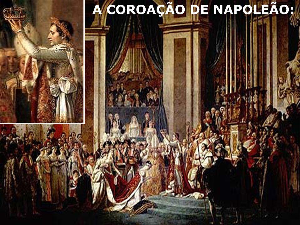3.O IMPÉRIO (1804 – 1815): A.Atritos permanentes com inimigos vizinhos.