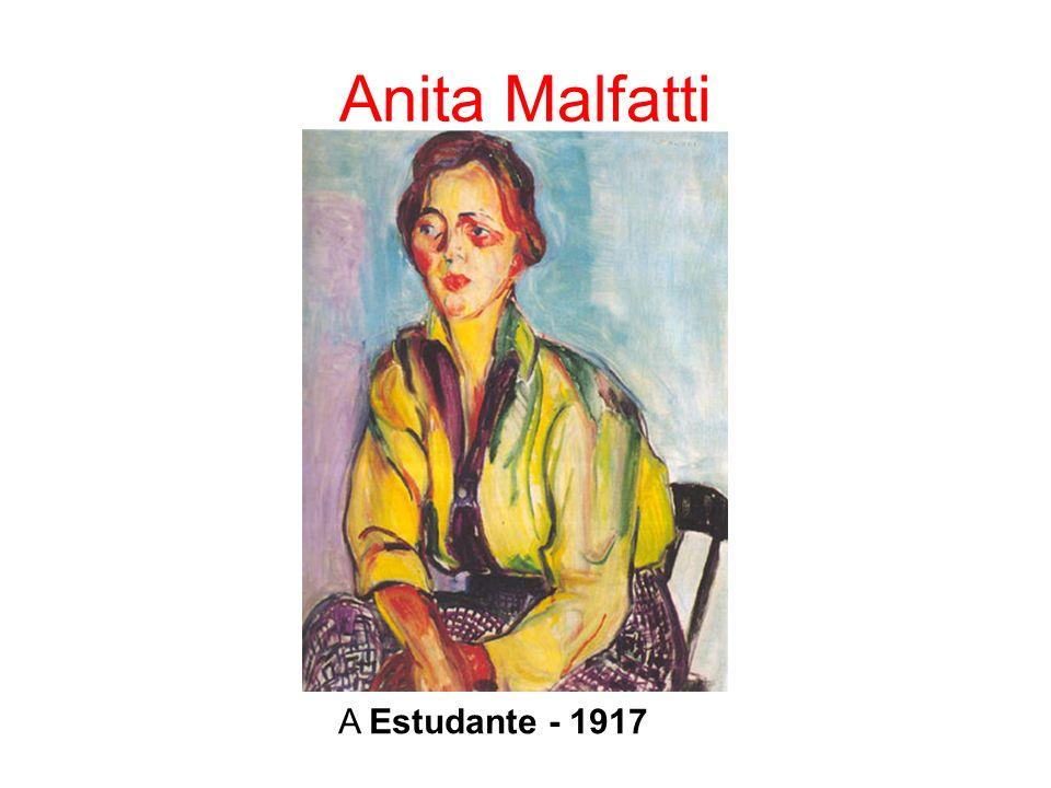 Anita Malfatti A Estudante - 1917