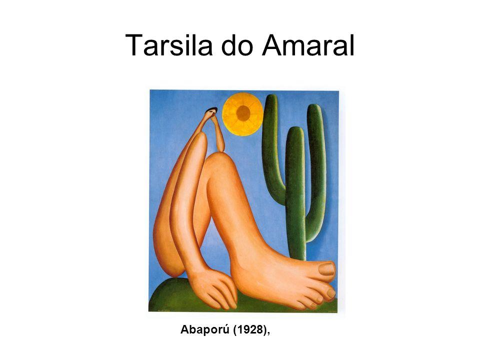 Tarsila do Amaral Abaporú (1928),
