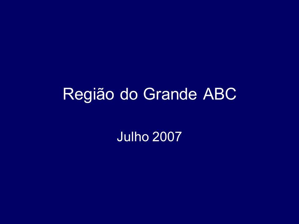 Região do Grande ABC Julho 2007