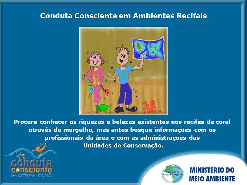 Respeite as normas de uso das unidades de conservação visitadas, informando-se com antecedência dos regulamentos.