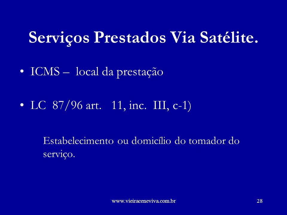 www.vieiraceneviva.com.br27 Tráfego Entrante Lei 9.249/95: Art.