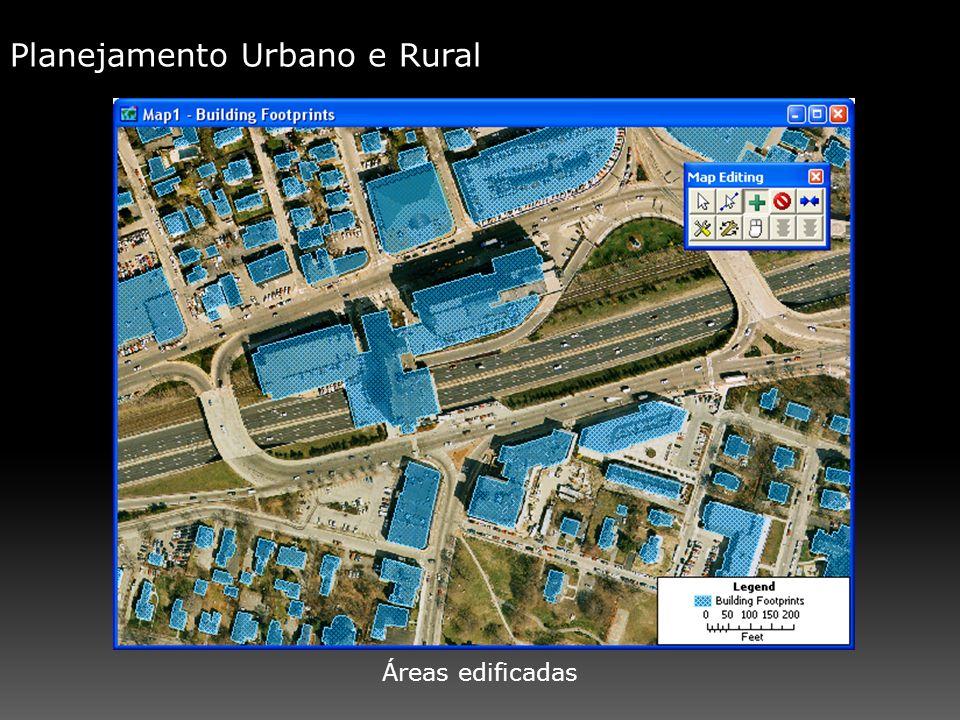 Planejamento Urbano e Rural Áreas edificadas