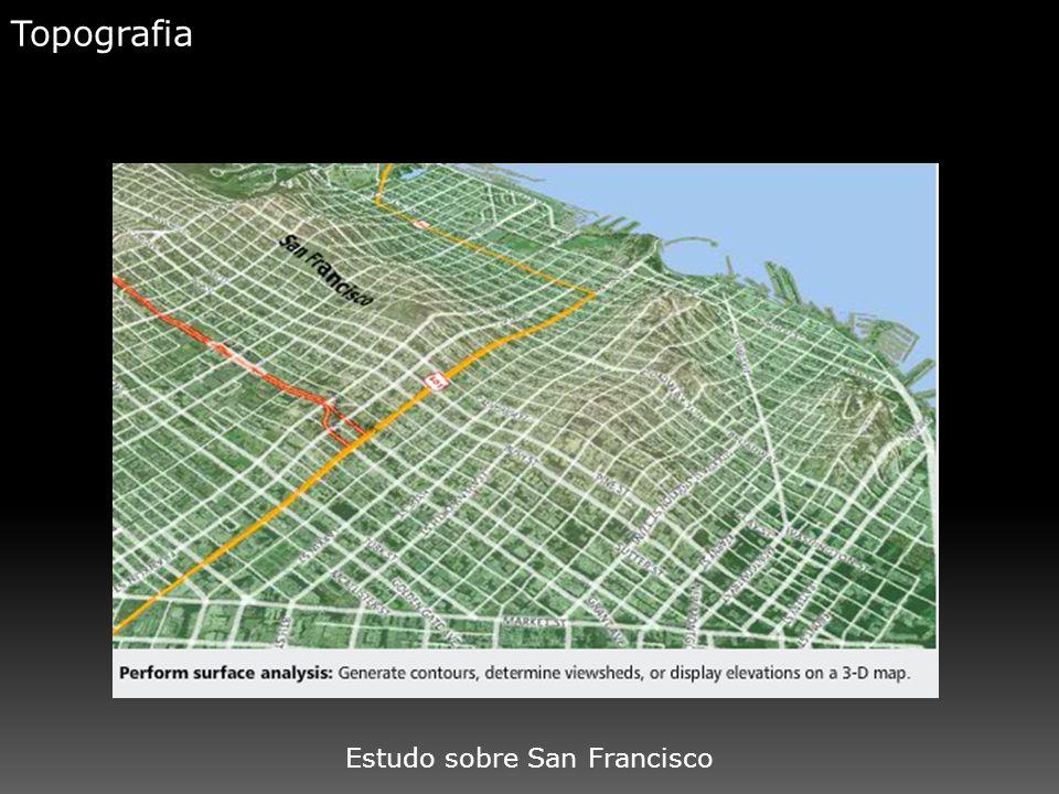 Topografia Estudo sobre San Francisco