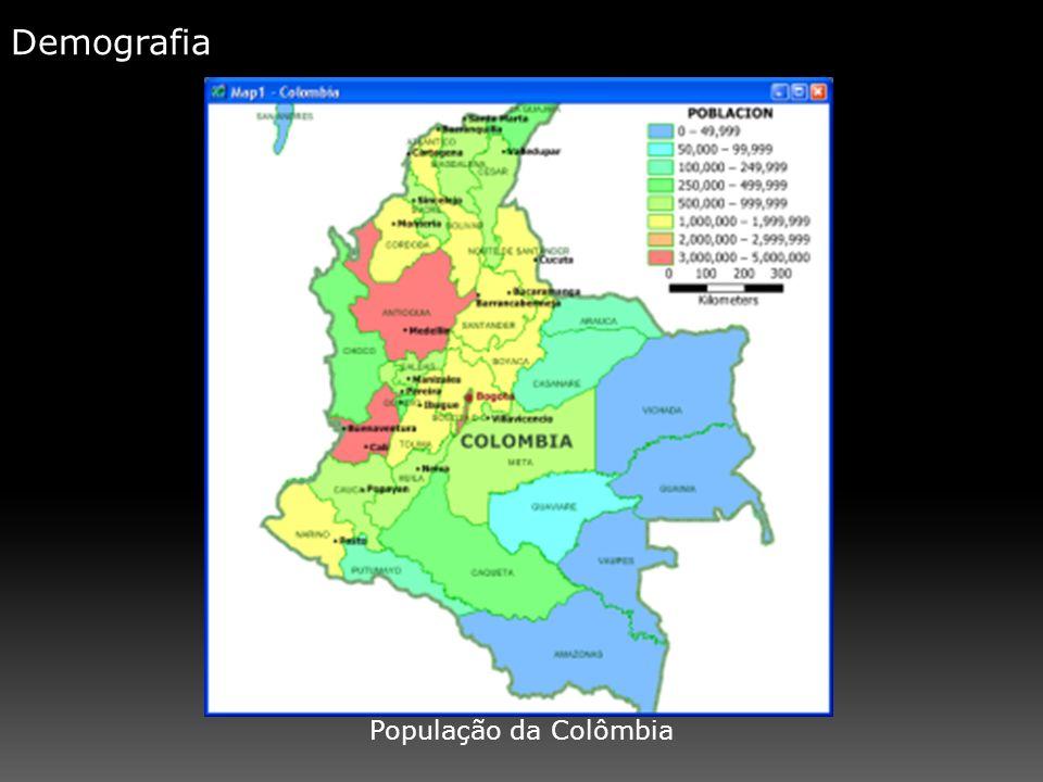 Demografia População da Colômbia