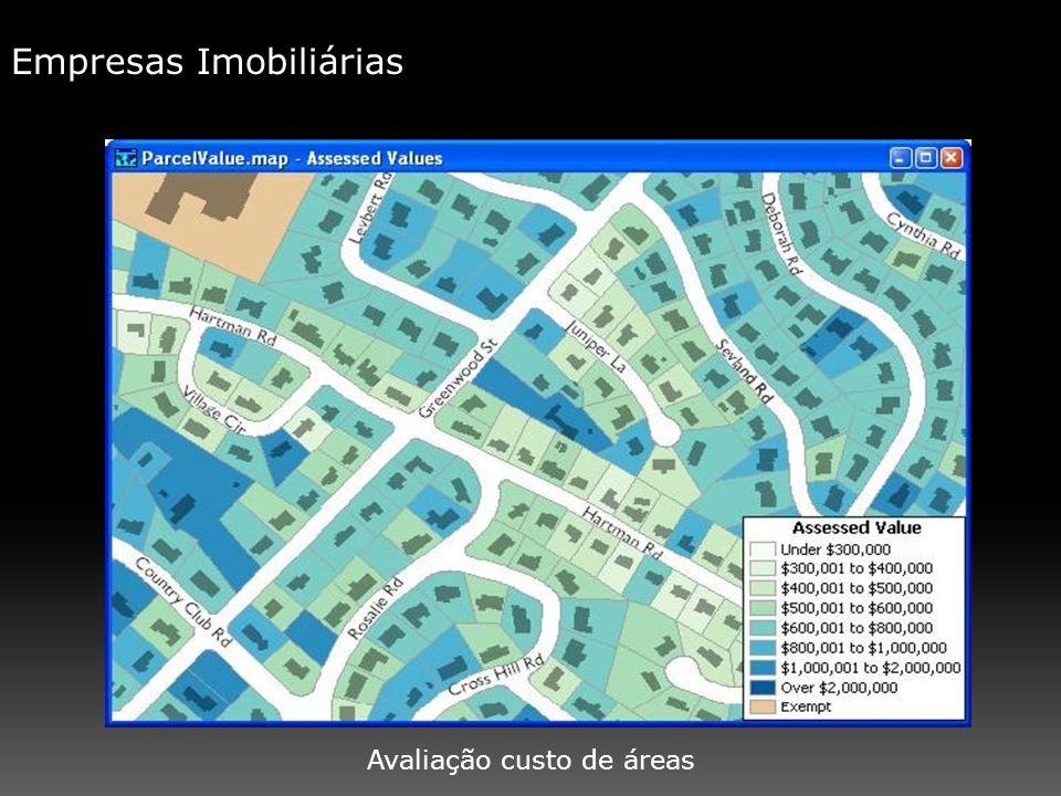 Empresas Imobiliárias Avaliação custo de áreas
