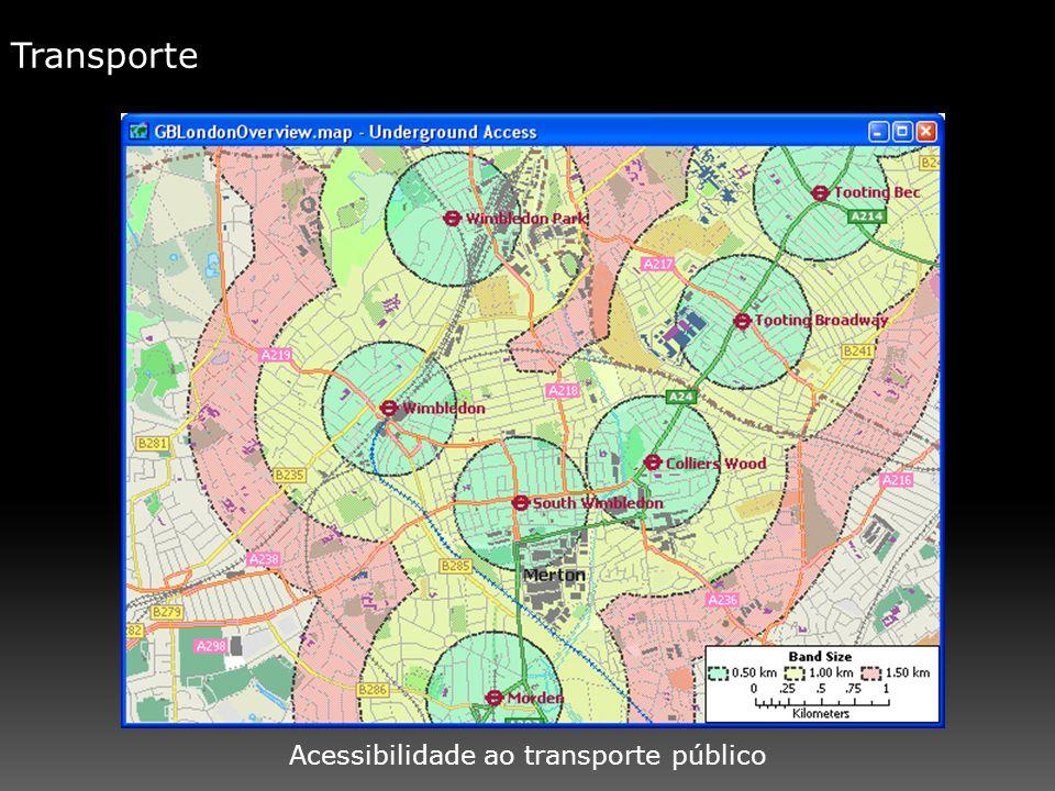 Transporte Acessibilidade ao transporte público