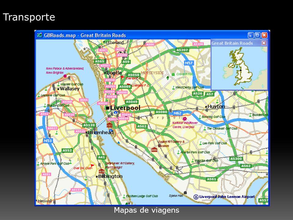 Transporte Mapas de viagens